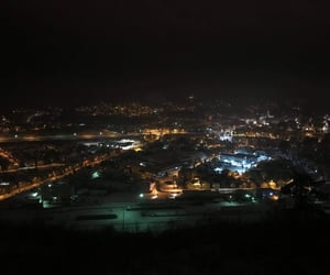 dreamy, night lights, and view image