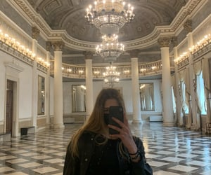 aesthetic, chandelier, and palace image