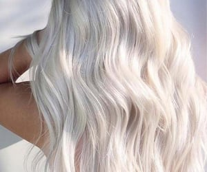 blonde, hair, and platinum image