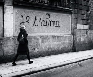 black and white, photography, and paris image