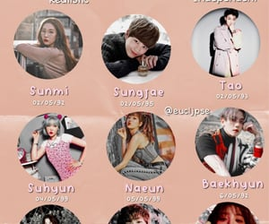 kpop, zodiac, and sungjae image