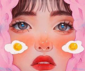 anime, digital painting, and art image