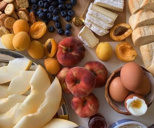 fruit, food, and bread image