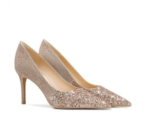sequins, sparkly, and pointed toe image
