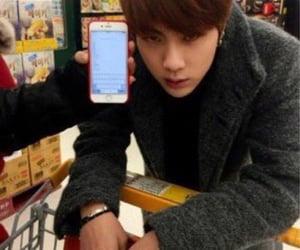 cart, phone, and shopping image