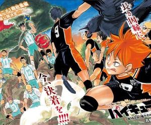 anime, kageyama tobio, and oikawa tooru image