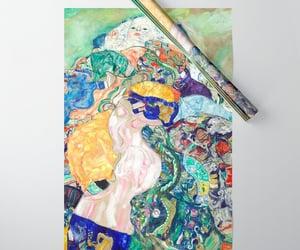baby, masterpieces, and gustav klimt art image