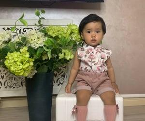 flower, babygirl, and fashion image