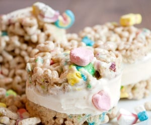 ice cream, food, and lucky charms image