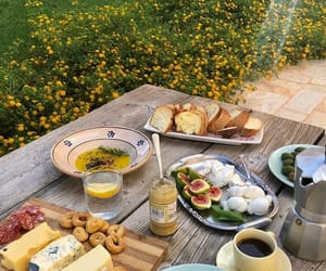food, picnic, and breakfast image