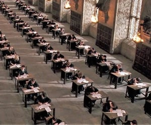 exam, exams, and harry potter image