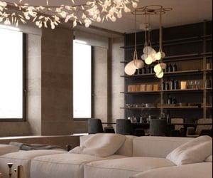 dinning room and livingroom image