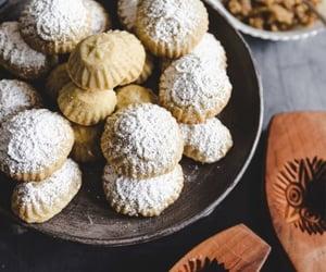 arabian, nuts, and حلويات image