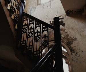 aesthetic, stairs, and dark academia image