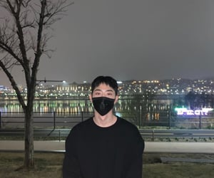 night life, night city, and korean boy image