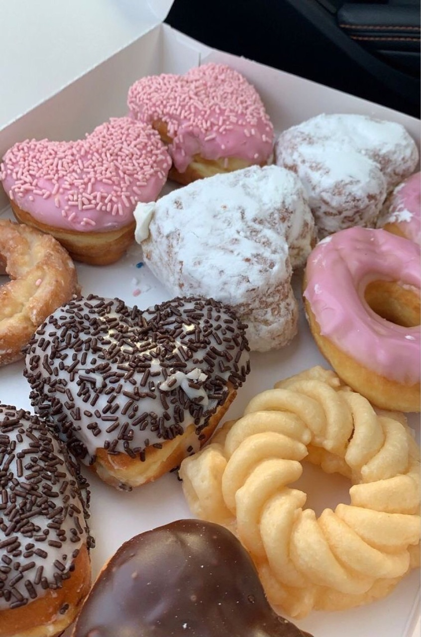 donuts, food, and aesthetic image