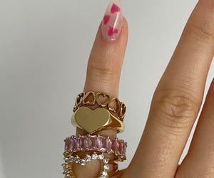hearts, nails, and rings image