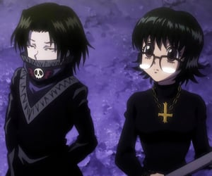 anime, black, and goth image