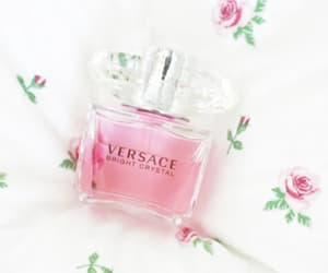 cosmetics, girly things, and perfume bottles image