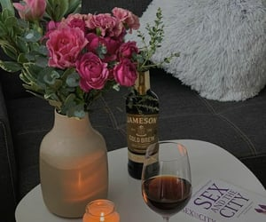 aesthetic, candle, and chic image