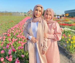 beautiful, make up, and pink image