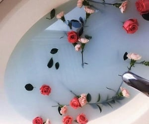 aesthetic, bath, and elegant image
