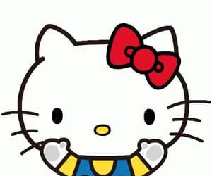 gif, gifs, and hello kitty image