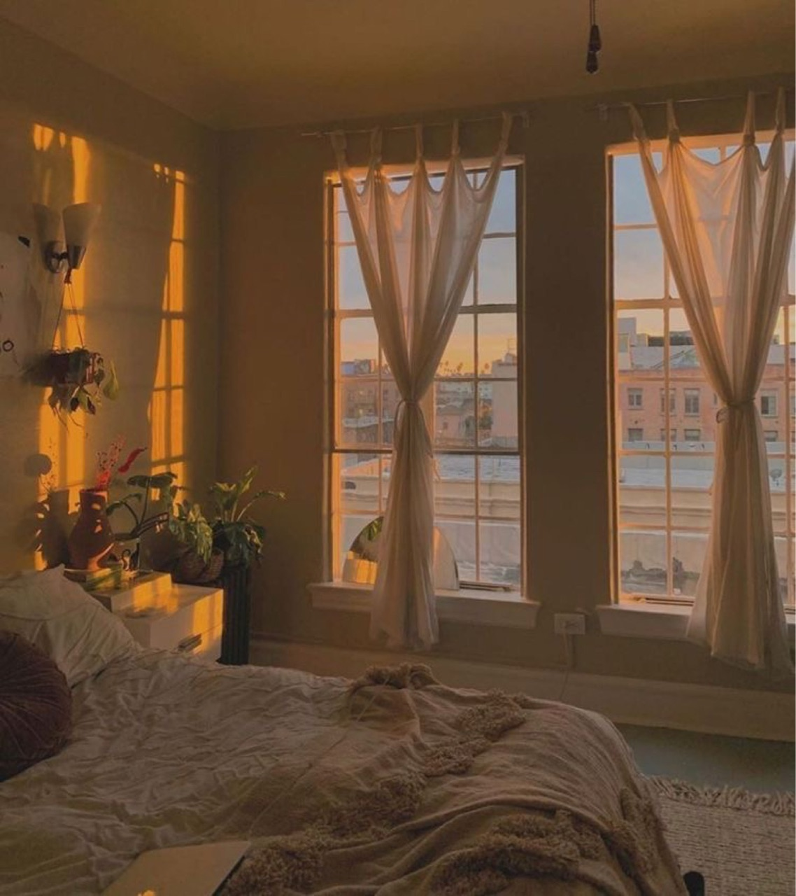 room, aesthetics, and bedroom image