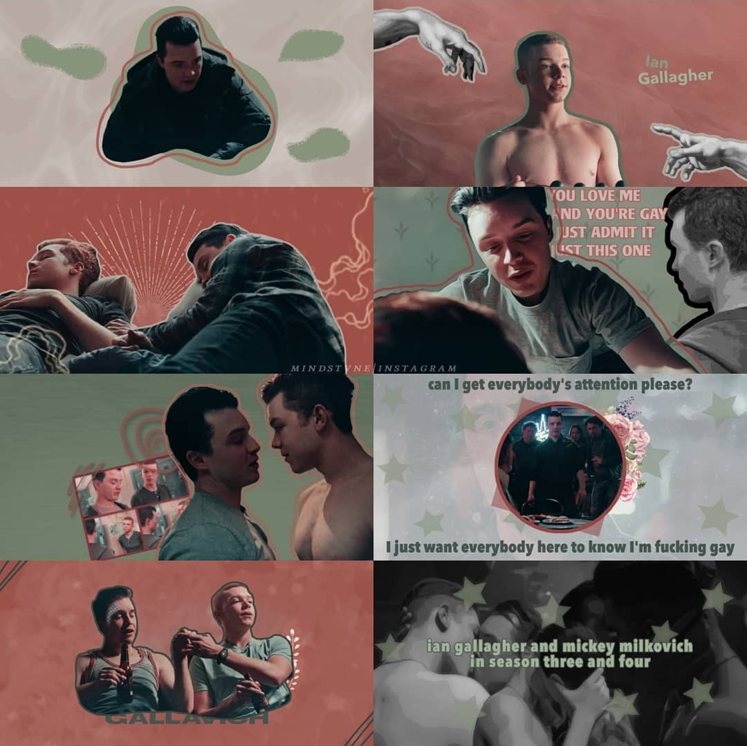 aesthetic, mickey milkovich, and edit image