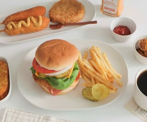 burger, French Fries, and sandwich image