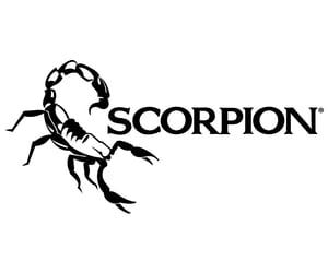 Logo, scorpion, and svg image