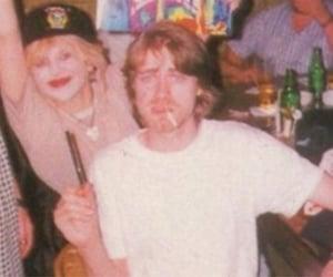 hole, nirvana, and Courtney Love image