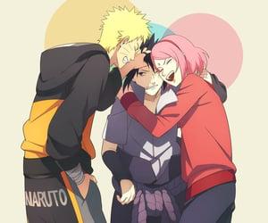 akatsuki, naruto, and sakura image