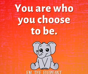 elephant, inspirational, and life quotes image