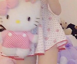 aesthetic, hello kitty, and girl image