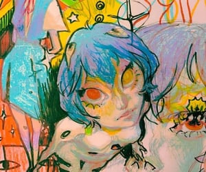 art, Neon Genesis Evangelion, and rei ayanami image