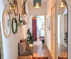 bohemian, living room, and decor image