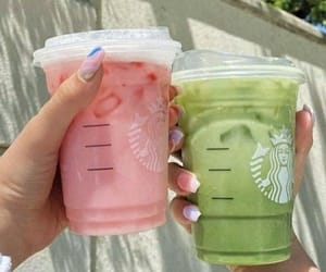 drink and starbucks image