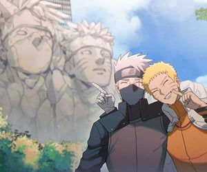 kakashi and naruto image