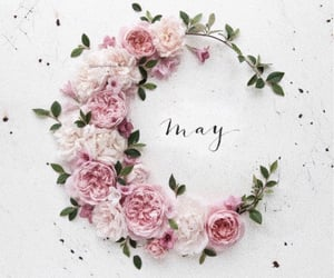 flower crown, flowers, and months image
