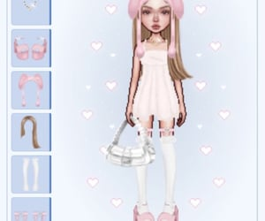 crystals, pink, and sanrio image