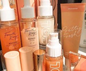 aesthetics, orange, and peachy image