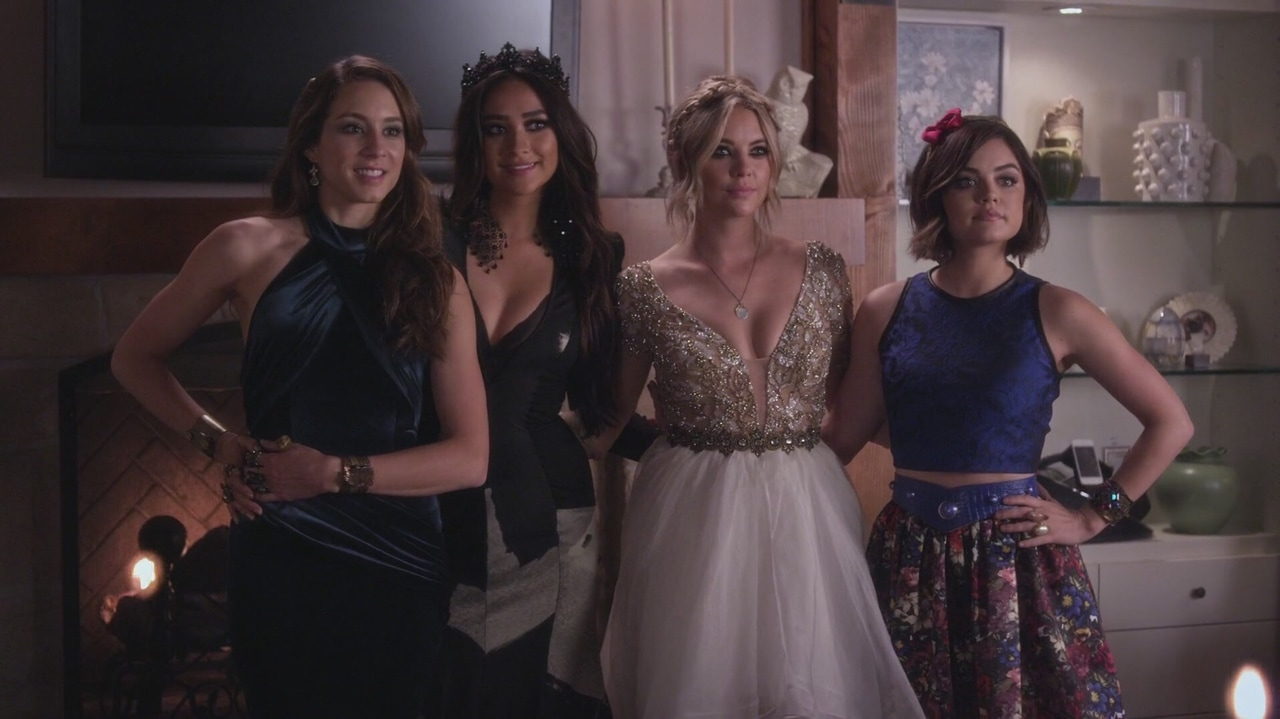 article, pll, and aria montgomery image