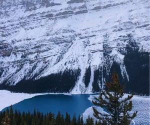 background, canada, and lake image