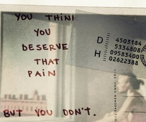 quotes, pain, and text image