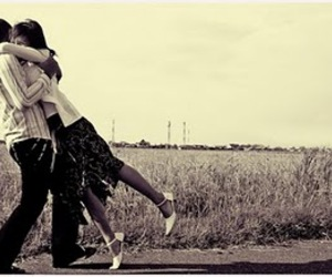 couple, romantic, and love image