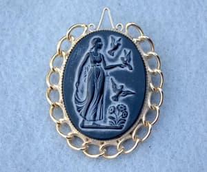 high end, vintage brooch, and brooch pendant image