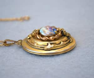 etsy, victorian revival, and lockets image