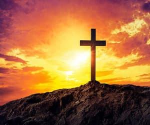 christian, glory, and light image