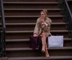 Christian Dior, bag, and smoke image